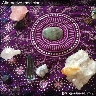 Crystal therapy is considered an alternative medicine.