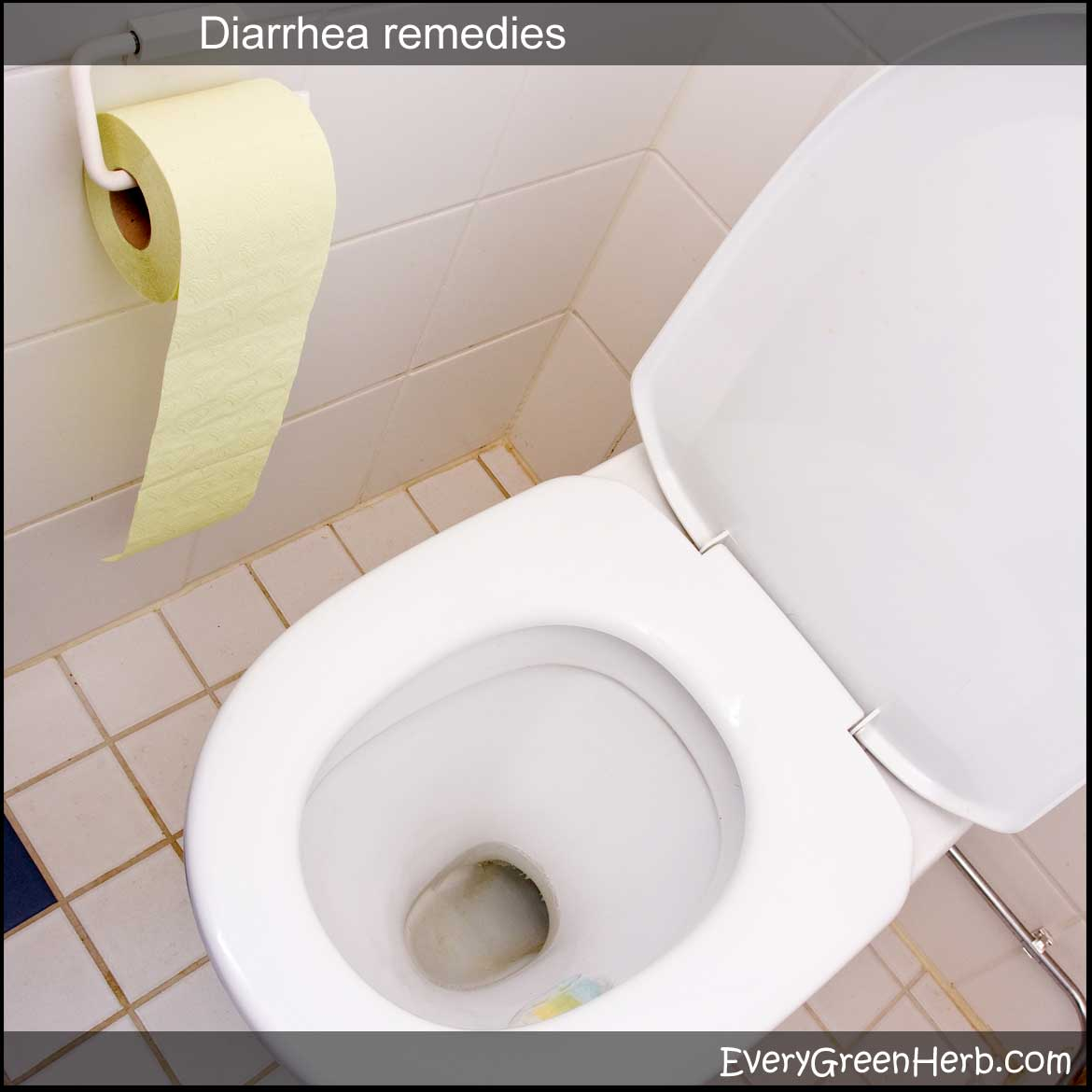 Tips for treating diarrhea with herbs, essential oils, and home remedies