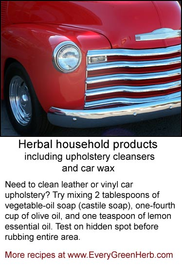 Herbal household products help keep your environment clean.