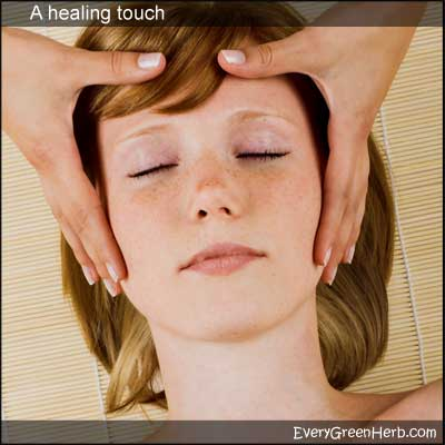 A healing touch can help heal the mind and body.