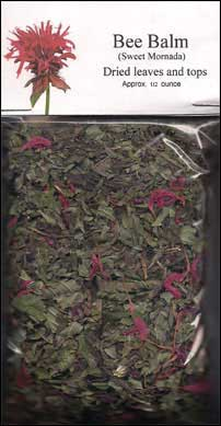 Dried bee balm for sale